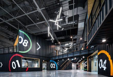 泰国KASIKORN集团办公空间设计