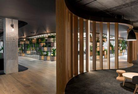 城市肌理柏林Slack科技公司办公空间