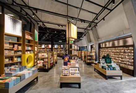 伦敦·泰特现代艺术馆扩建的礼品零售店