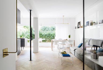 特拉维夫70㎡清新北欧风包豪斯公寓设计