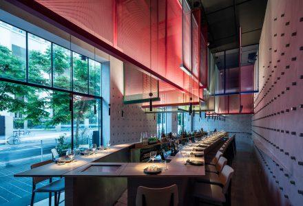 特拉维夫Ya Pan主题日料酒吧餐厅设计