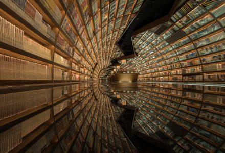 """扬州·钟书阁""""隧道""""书店设计 / 唯想国际"""