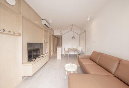 70㎡现代温馨住宅设计—Home L