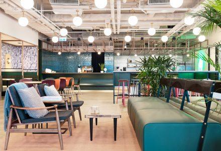 香港铜锣湾WeWork共享办公空间