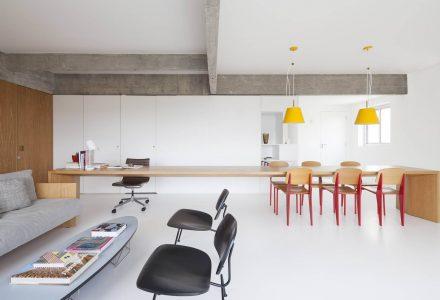 96㎡开放式公寓改造设计