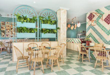 西班牙地中海风情Albabel披萨餐厅