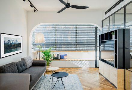 满足工作+生活的SOHO式公寓