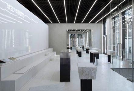 伦敦·Axel Arigato品牌专卖店设计