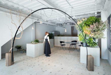 日本神户工业感Gigi Verde花店设计