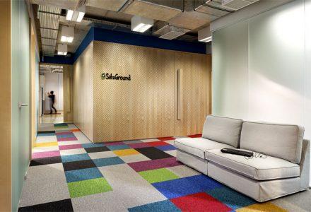 时尚、轻工业风IT公司办公空间设计