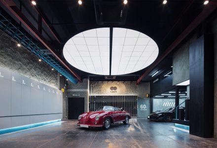 香港Impressive Auto Salon电影主题车库