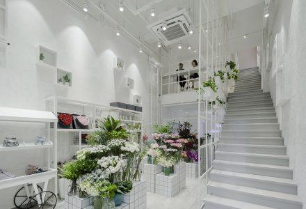 多业态花店设计—孙小姐的花店