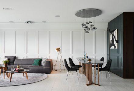 经典结合现代风格住宅设计