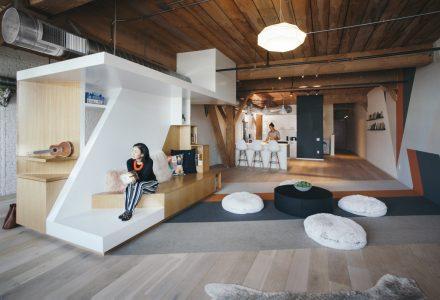 140㎡阁楼改造度假公寓