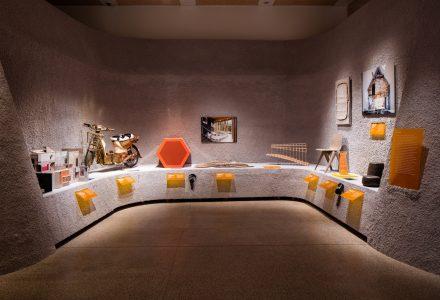 肯辛顿设计博物馆洞穴展览空间