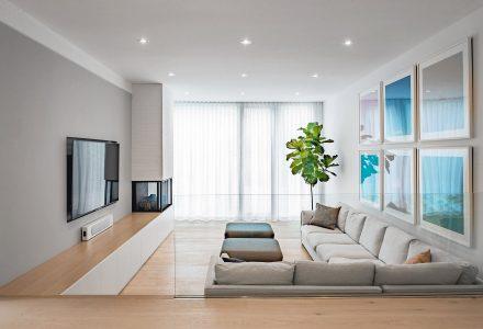 多伦多家庭模仿前纽约公寓改造现代住宅