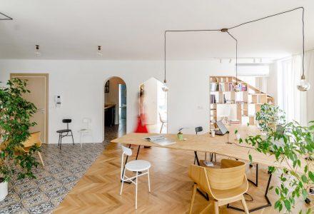 保加利亚公寓改造SOHO办公空间