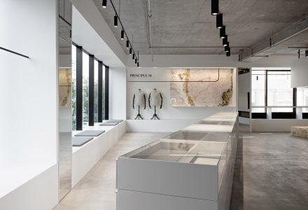 北京PRINCIPLE M展厅设计