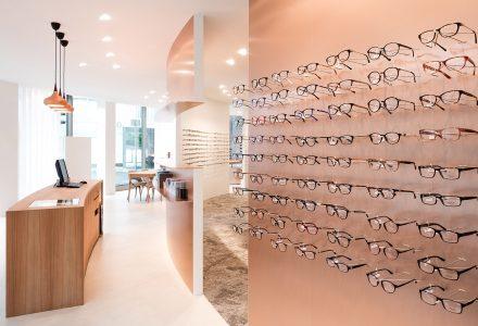 比利时Opti Q眼镜店设计