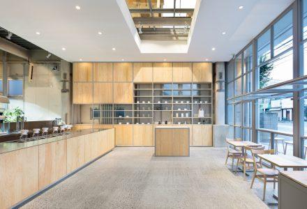 东京·Nakameguro蓝瓶咖啡厅设计