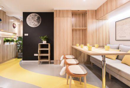 上海60平米公寓改造设计
