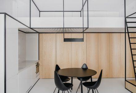 46㎡波兰小户型公寓设计