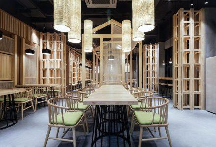 湖北欢易小面餐厅设计
