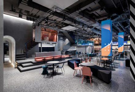韩国首尔Jam2go文化综合体空间设计