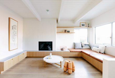 狭窄布局改造开放式现代住宅