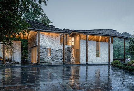 《漂亮的房子》安徽铜陵山居