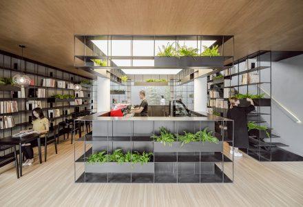 北京荣宝斋咖啡+书店设计