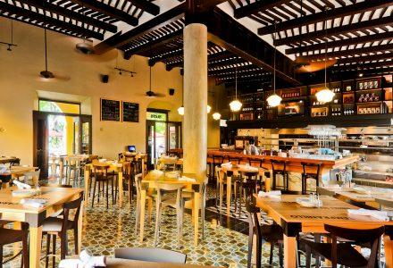 意大利La Tratto Santa Lucí餐厅改造