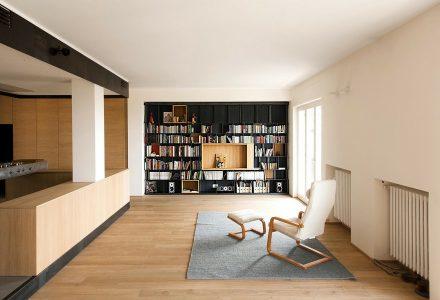 木与铁的公寓设计