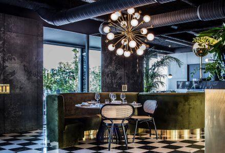 法国里昂La Forêt Noire精品餐厅