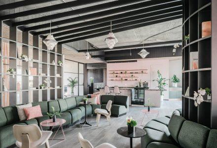 旧金山多元化的Canopy共享办公空间设计