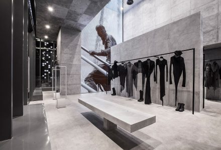 迪拜DEMOBAZA品牌时装概念店 / Studio Mode