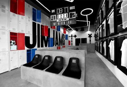 墨西哥JimJams门店设计