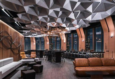 洛杉矶71 Above精品餐厅设计
