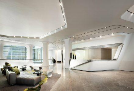纽约520 West 28th精品住宅/Zaha Hadid