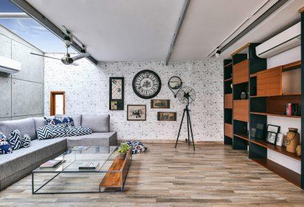 轻量结构公寓 / Studio Wood
