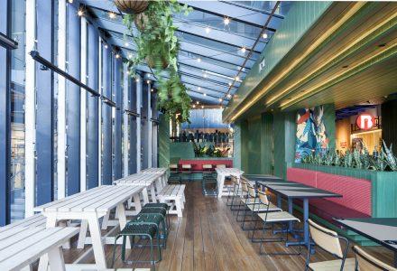 墨尔本Hightail Bar酒吧设计