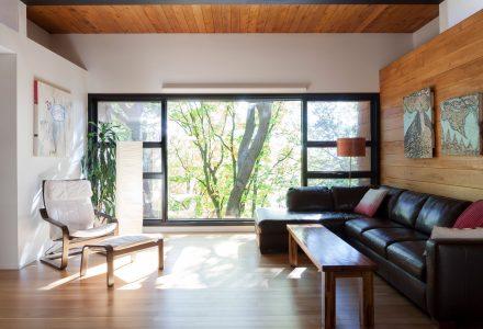 PARKA Architecture现代主义住宅改造
