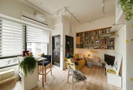 小空间温馨家居设计 / A'Lentil design