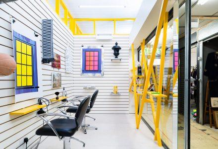 伦敦融入艺术的理发店—Peckham