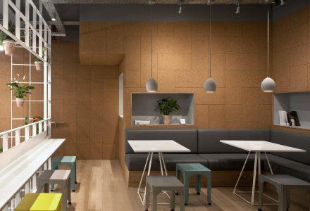 伦敦Olive+Squash咖啡馆设计