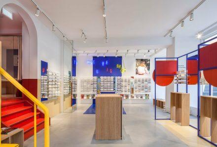 丹麦哥本哈根ACE&TATE品牌眼镜店设计