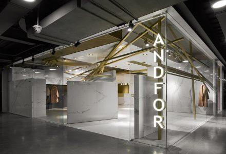 杭州·ANDFOR服装品牌展厅