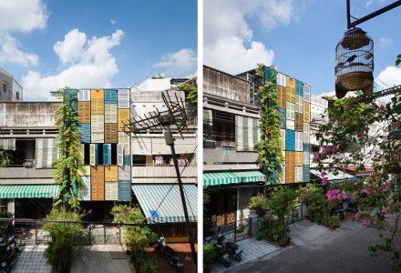 越南老排房改造住宅 / Block