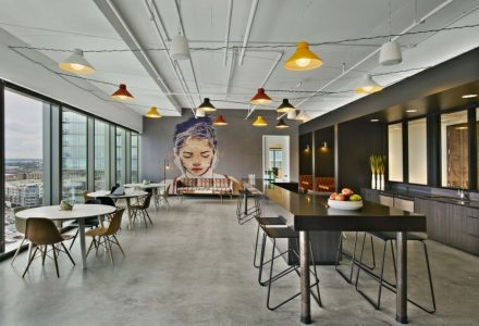 纳什维尔索尼音乐创意办公室设计