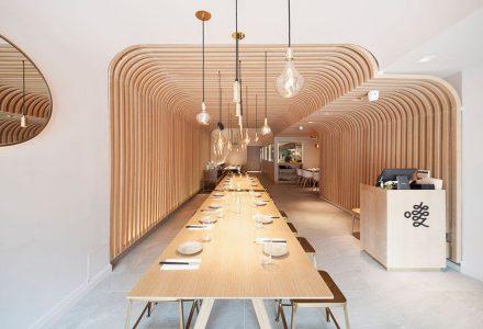 纽约HUNAN SLURP特色湘菜馆设计